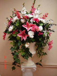 Grandes arreglos florales de seda - foter