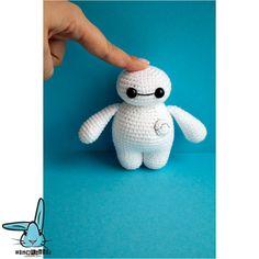 Crochet Baymax .PDF crochet pattern Big Hero 6 crocheted