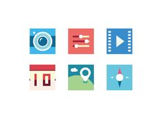 flat Icons by sunnywang