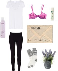 """""""lavender morning"""" by marie-clairexx ❤ liked on Polyvore"""