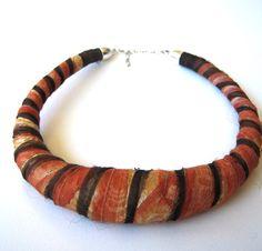 Studio JAA-PT necklace organza leftovers