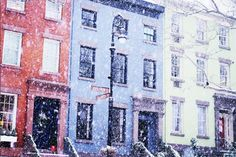 Brooklyn Flurries - These Snow-Covered Homes Will Make You Love Winter - Photos