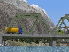 Moderne #Stahlbrücke. Ab #EEP8
