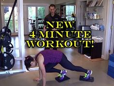 Brand New 4-Minute Workout! + MORE - http://www.blog.takeonlineyogaclasses.com/brand-new-4-minute-workout-more/
