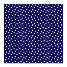 Navy Blue Houndstooth Shower Curtain