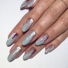#pastelnailart #naildesigns #nails #nailideas #nailart #multicolorednails #ovalnails