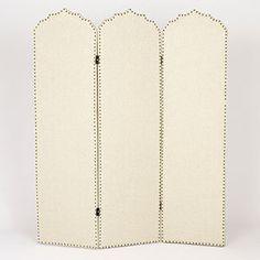 Hara Upholstered Screen | Living Room Furniture| Furniture | World Market