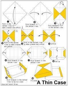 {Presentes pro Ado}: Origami Caixa