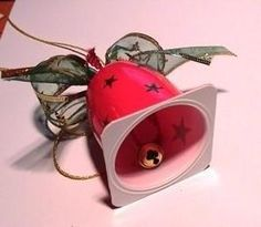 Christmas bell idea.. (Picture, no instructions)