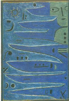 Paul Klee - le gris de la côte (1938)