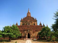 Sulamani Tempel in Bagan