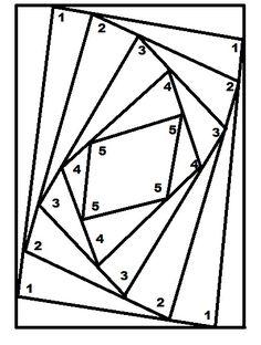 Lindy's Iris Folding Template
