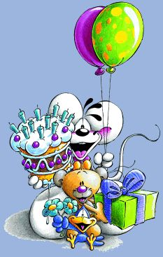 diddles birthday cake!