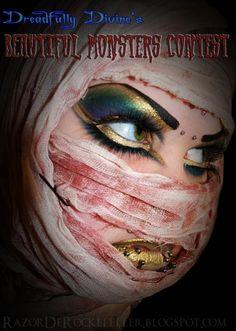 Beautiful Monster by Razor De Rockefeller http://www.makeupbee.com/look.php?look_id=80028