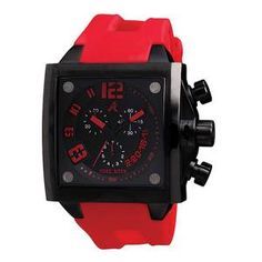 Persona Men's Watch Black Red now featured on Fab.