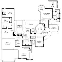 Family Room Floor Plan 11 floor plans that say come over for the Slab On Grade Ranch Floor Plan Move Laundry Room Away From Garage Entrance