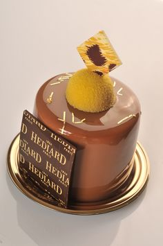 Gâteau chocolat  //  Chocolate cake - Hédiard