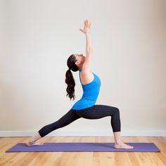 Yoga Poses to Strengthen and Lengthen Legs: Strong, sculpted legs are always in season, and these five yoga poses will strengthen and stretch muscles into toned perfection.