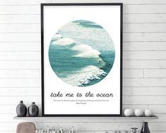 Surfer poster, Surfing Wall Art, Surfer Print, Surf Print, Beach Print, Waves Print, Ocean Print, Coastal Print, Sea Print, Instant Download