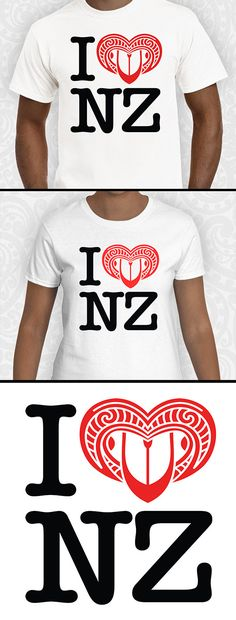 A well known T'Shirt design with a Kiwi twist!