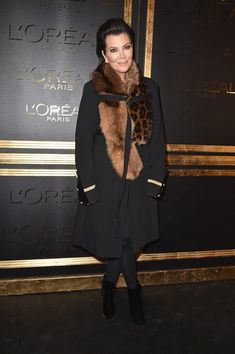 Kris Jenner Photos Photos - Kris Jenner attends the Gold Obsession Party - L'Oreal Paris : Photocall as part of the Paris Fashion Week Womenswear  Spring/Summer 2017  on October 2, 2016 in Paris, France. - Gold Obsession Party - L'Oreal Paris : Photocall - Paris Fashion Week Womenswear Spring/Summer 2017