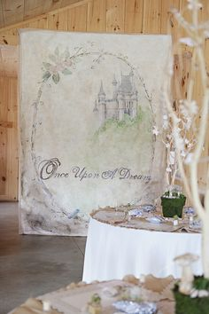photo backdrop Once Upon A Dream sweeteyecandycreations.typepad.com