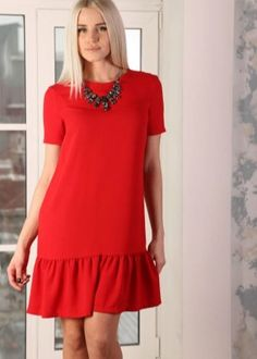 Simple Outfits, Simple Dresses, Casual Dresses For Women, Pretty Dresses, Clothes For Women, Modest Dresses, Short Sleeve Dresses, Linen Dress Pattern, Latest African Fashion Dresses