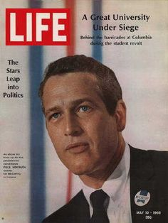 """Paul Newman - Life Magazine, May 10, 1968 issue - Visit http://oldlifemagazines.com/the-1960s/1968/may-10-1968-life-magazine.html to purchase this issue of Life Magazine. Enter """"pinterest"""" at checkout for a 12% discount. - Paul Newman"""
