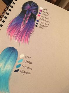 Color Pencil Drawing Prismacolor pencils on grey strathmore paper Pencil Art Drawings, Art Drawings Sketches, Cute Drawings, Horse Drawings, Hair Drawings, Colorful Drawings, Animal Drawings, Hair Sketch, Colored Pencil Techniques