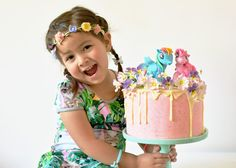 Fijne Pret: Little Pony cake for Zoe's 4th birthday