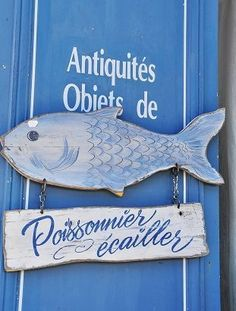 cute French sign
