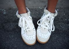 Isabel Marant Sneakers <3 | Sincerely Jules