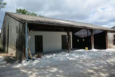 Kent dairy farm prefabricated building cow shed