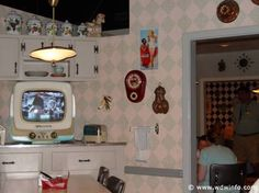 The 50's Prince Time Cafe located in Disney's Hollywood Studios in Orlando Florida is a real fun place to eat.