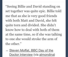 this is the sweetest thing ever. I LOVE Billie Piper!