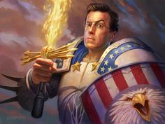 Happy fourth of July. Stephen Colbert, Oncle Sam, Colbert Report, Jon Stewart, Happy Fourth Of July, The Daily Show, Idole, Paladin, Atheist