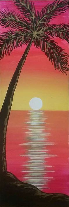 Tequila Sunset painting https://www.pinotspalette.com/naperville/events