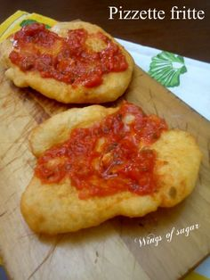 pizzette fritte ricetta - wings of sugar blog