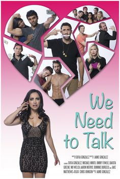 """Sofia Gonzalez's """"We Need To Talk""""  Poster design by Elko photography Chris Johnson, Gallery, Poster, Photography, Design, Fotografie, Photography Business, Posters, Fotografia"""