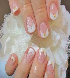 french tips short nails 20 Cute Nail Art Designs for Short Nails