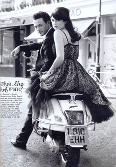 Gemma Arterton & Luke Evans (Glamour uk)