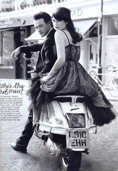 Gemma Arterton & Luke Evans (Glamour uk)