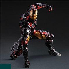 Iron Man Super Hero Age of Ultron Tony Stark Hulkbuster Action Figure