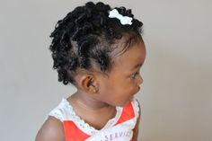 Curley hair idea for your toddler| How to style your toddler's curly hair. Ringlets| Shirley Temple style