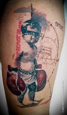 Tattoo by Paul Talbot - Tattoo Artist, Bromsgrove UK