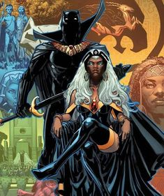 The Totally Awesome Hulk Black Panther Anniversary Variant Cover Storm By Phil Jimenez