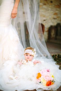 #adorable! http://www.stylemepretty.com/california-weddings/2015/02/22/glitter-and-gold-wedding-at-holman-ranch/ | Photography: This Love of Yours - http://thisloveofyours.com/