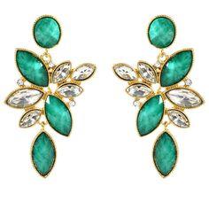 Amrita Singh Tamira Earrings ($75) found on Polyvore