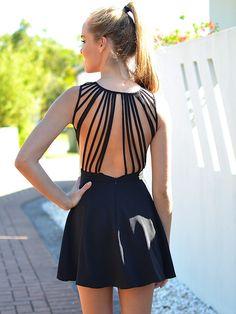 Chandelier dress @ Mura Boutique.