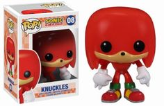 Amazon.com: Funko POP Sonic Knuckles Vinyl Figure: Toys & Games